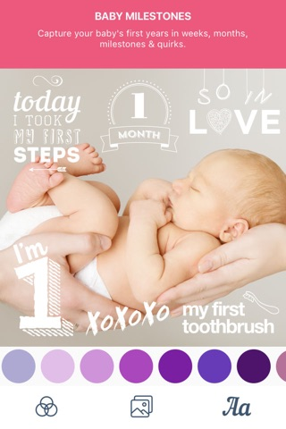 Baby Pics - Photo Editor screenshot 4