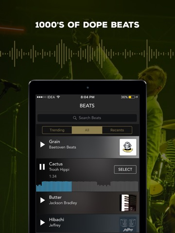 Rapchat: Rap Maker & Studio screenshot 1