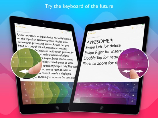 Color Swipe Keyboard Pro Screenshots