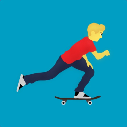 Bit Skate Emoji app for iphone