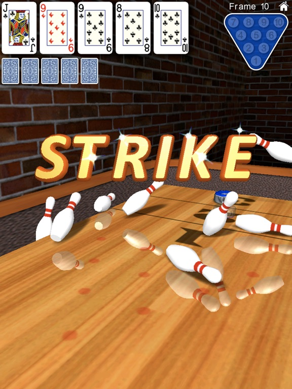 Screenshot #2 for 10 Pin Shuffle for iPad