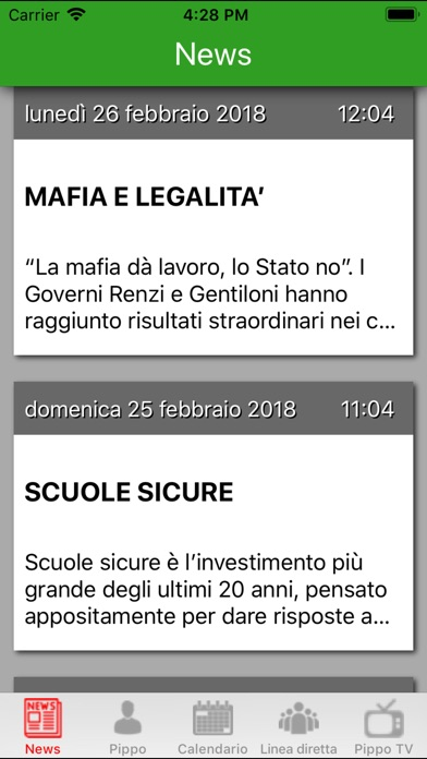 Screenshot of Pippo Rossetti2