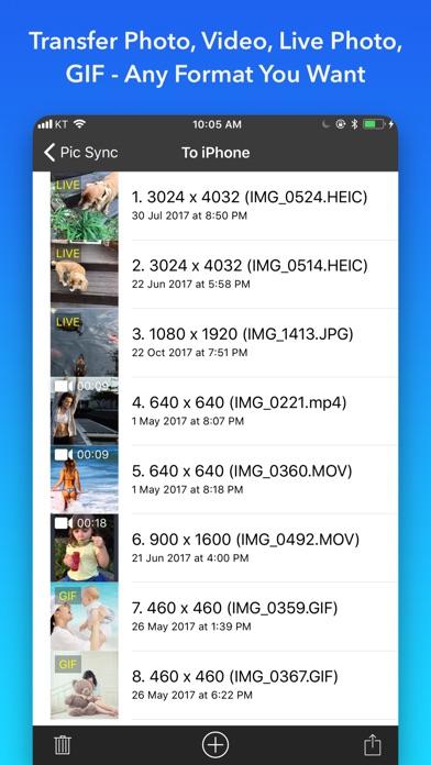 Pic Sync for Dropbox + WiFi Screenshots