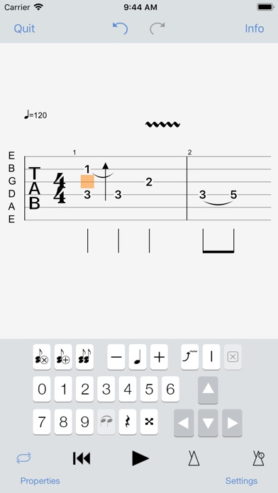 Guitar Pro screenshot 4