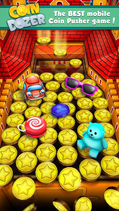 Screenshots of Coin Dozer for iPhone