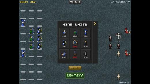 8bitWar: Necropolis Screenshot