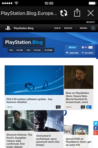 PlayStation®App screenshot 3