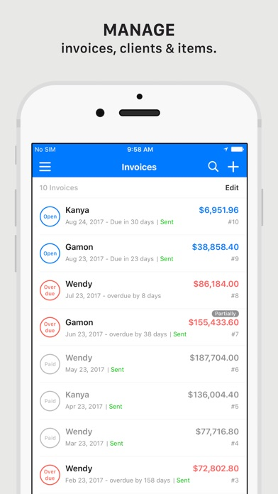 Tiny Invoice - Invoice & Estimate On The App Store