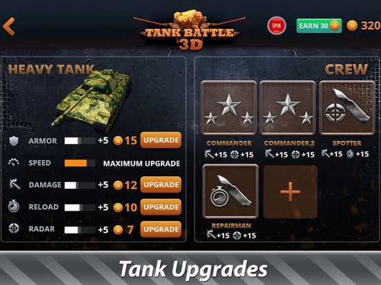 Tank Battles 3D: War Battlefield Full Screenshots