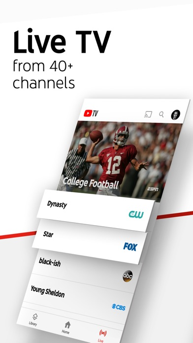 Youtube tv on the app store iphone screenshot 1 sciox Images