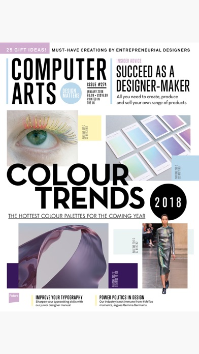 download Computer Arts: the graphic design magazine appstore review