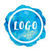 Watercolour Logo Maker -Small Business Logo Design