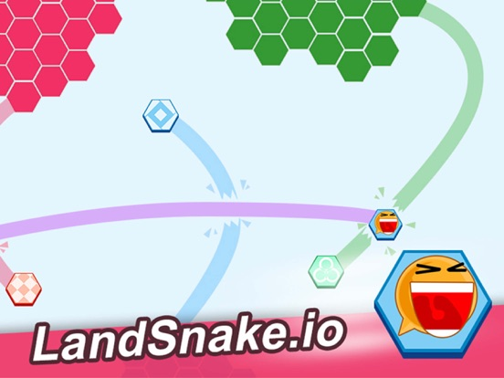Screenshot 2 Land Snake.io