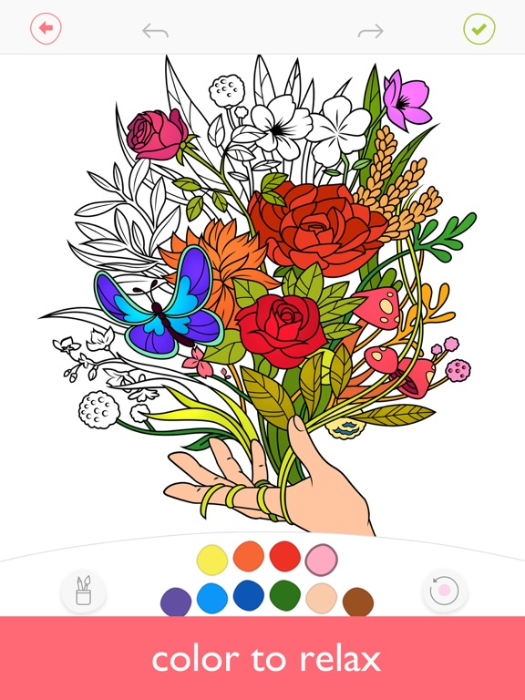 Colorfy: Coloring Book with AR Screenshots