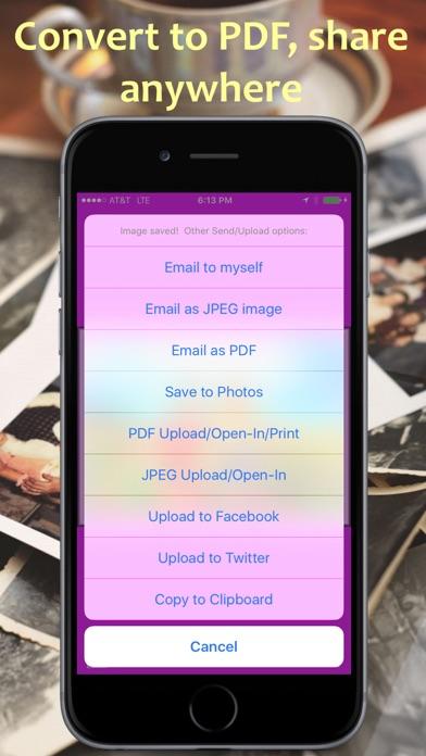 PhotoScan PDF Pro Scanner Screenshot