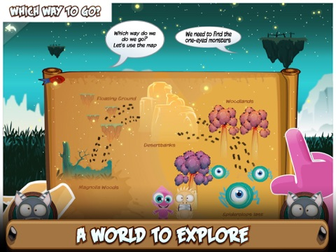 Critter Clan: Spiderclops Race screenshot 4