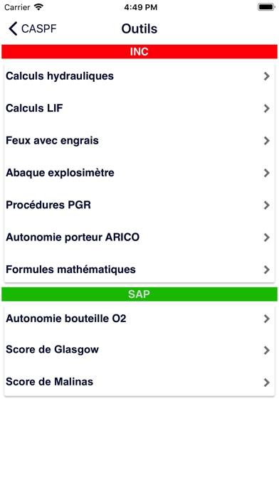 download CASPF apps 0