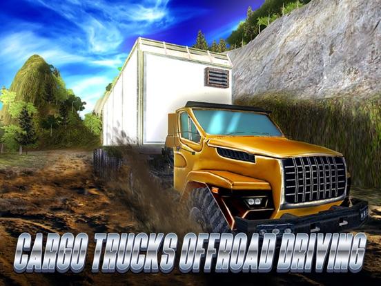 Cargo Trucks Offroad Driving Full на iPad