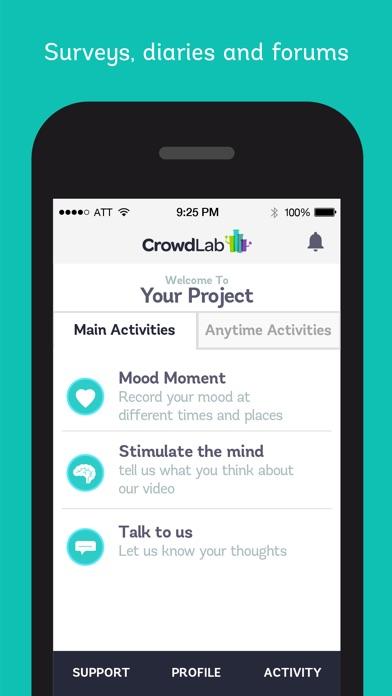 Screenshot of CrowdLab2