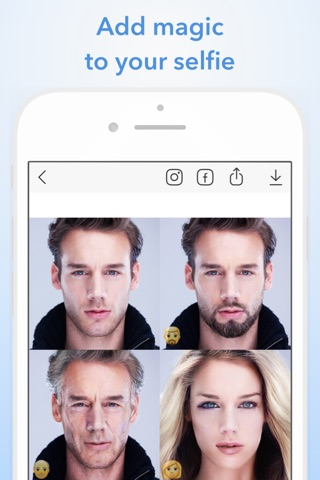 FaceApp: Neural Face Magic screenshot 1