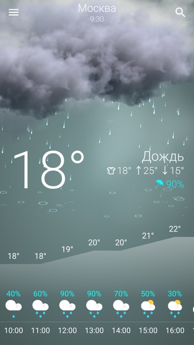 Прогноз погоды в РоссииСкриншоты 4