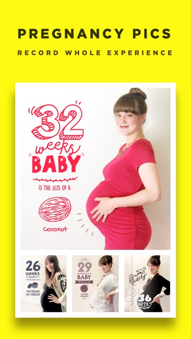Screenshots of Baby Story - Pregnancy Pics Baby Milestones Photo for iPhone