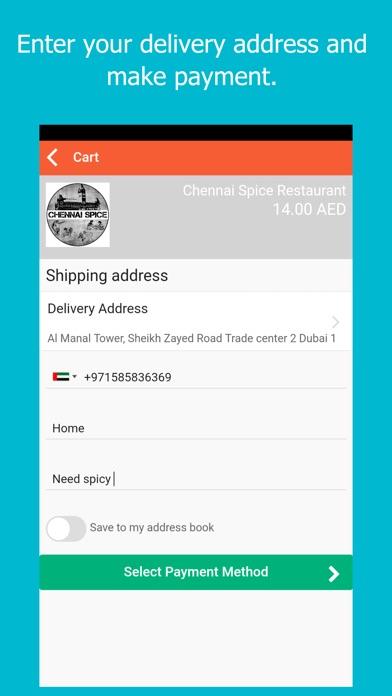 Screenshot of Beam EATS - Food Delivery App