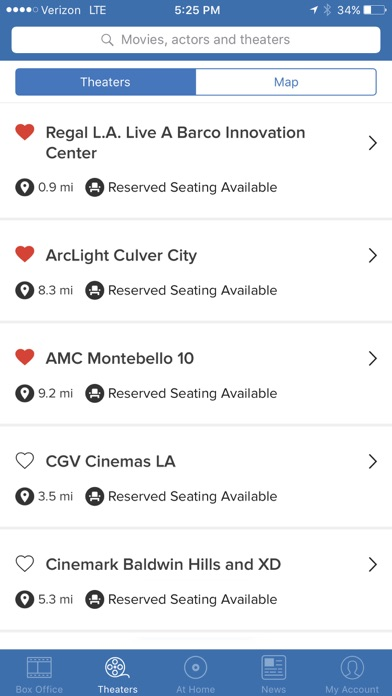 Flixster review screenshots