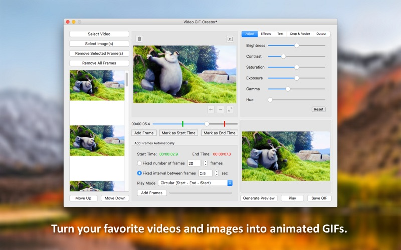 Video GIF Creator - GIF Maker Screenshots