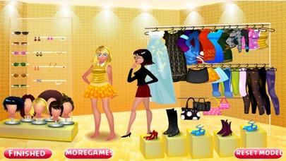 Glamours Model Dress UpСкриншоты 4