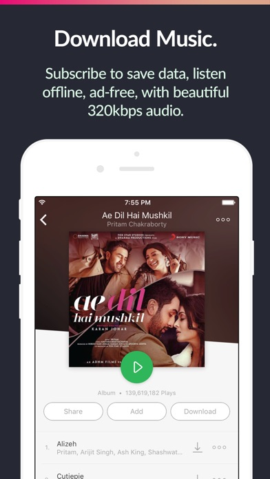 saavn++ screenshot 5