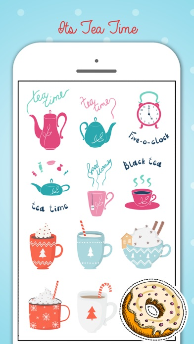 Tea Party Stickers Pack screenshot 3