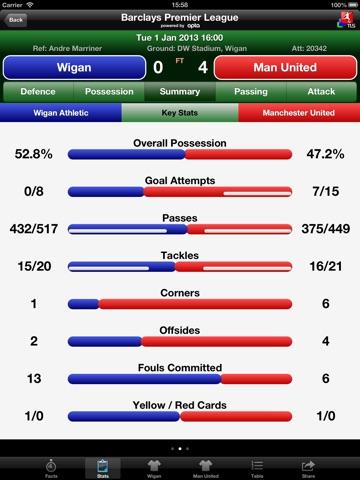 TLS Football - Premier Stats screenshot 4