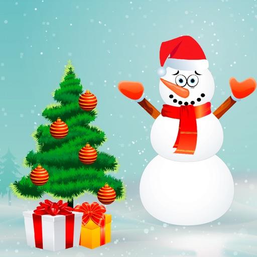 Christmas - Tree and Snowman