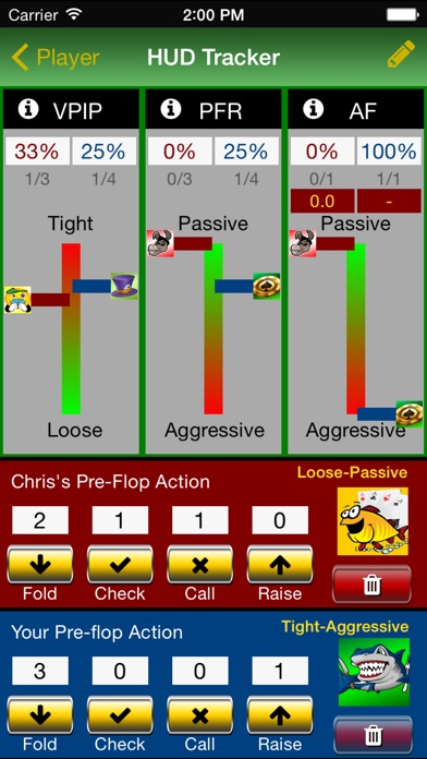 Poker Track Pro – Live Stats and Bankroll Tracker Screenshots