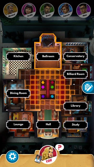 Clue: Classic Mystery Game Screenshots