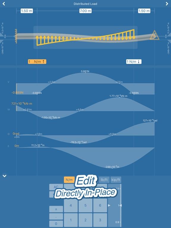 Beam Deflection Engineering Screenshots