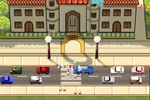 Chicken Cross Road screenshot 2