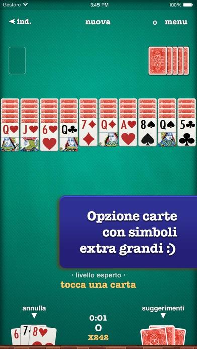 Screenshot of Solitario ⓈⓟⒾⒹⒺⓇ4