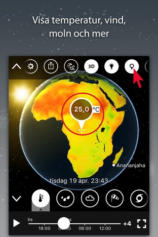 MeteoEarth screenshot 1