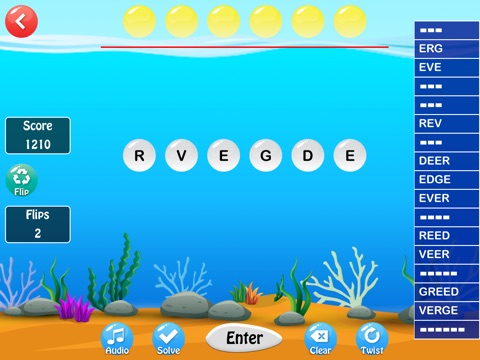 Bubbleword screenshot 1