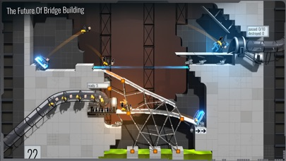 Bridge Constructor Portal screenshot 2