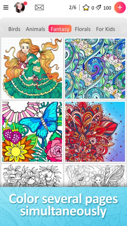 Magic Coloring Books by ZiMAD