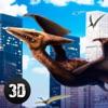 Pterodactyl Dino City Attack Simulator 3D