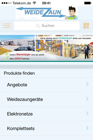 www.weidezaun.info screenshot 2