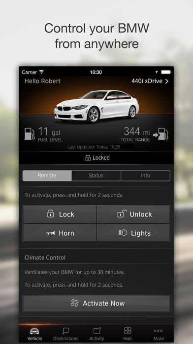Bmw Remote Start >> BMW Connected App Download - Android APK