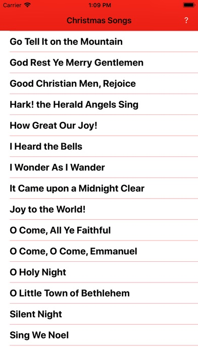 Simple Christmas Songs on the App Store