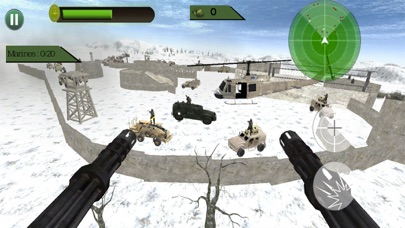 Commando Crackdown Heli-War Скриншоты4