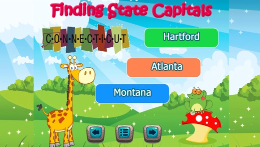 Map Of Us States And Capitals Quiz - 50 us states map
