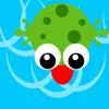 yangzhou zhang - Frog Hello-GO  artwork